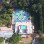 swimming Pool bird eye view