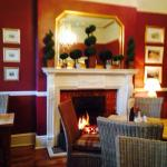 Cosy corner for afternoon tea