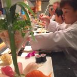 Another night of great sushi.