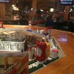 Applebees bar area