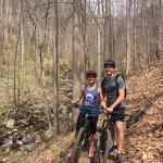 Beautiful Pisgah National Forest single-track!
