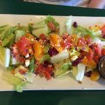 """salad looks good ..tastes """"off"""""""