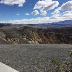 Ubehebe Crater, a very scenic spot