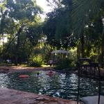 The Boma pool area