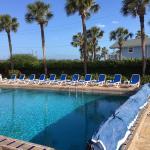 Saturday morning pool time