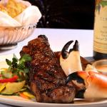 Yabba offers a wide range of steak and seafood combos with NY Strip, Chicago Cut Rib Eye, filets