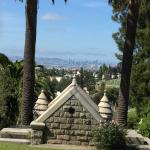 Across Mountain View Cemetery, Oakland, CA to San Francisco