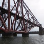 Close up of the rail bridge