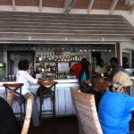 View of bar in AquAquA, Ballahoo restaurant