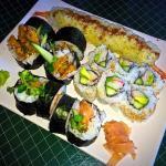 Sushi at Tempura House!