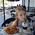 Nuggets and milkshake kids meal
