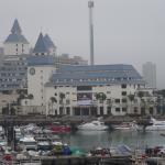 A view of the hotel from the fisherman pier.