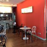 Bar de desayunos y zona de rercepcion o común