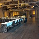 Meeting room in the converted barn