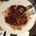 Poutine! A Canadian tradition.
