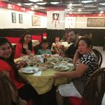 My family and my best friend enjoying our chinese foods. the dumplings is great. We loved it.