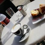 Coffee and Muffins.... a treat at Foodie Cafe, Skiathos