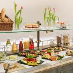 Von hier, lecker, gesund: das Frühstücksbuffet im Hotel DER KRONPRINZ in Duderstadt