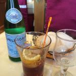 Martini et San Pellegrino.
