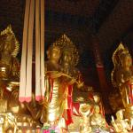 In the Chongsheng temple