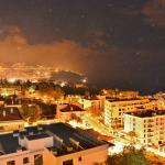 Nattbild från vår balkong