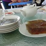 Water Chestnut Jelly Cake