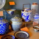 Ancient jars and dishes from old Songkhla