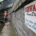 Path alonge the river to NIrwa Homestay