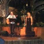 Maila Gibson and Ben Vegas performing Oleo Room