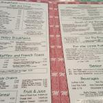 Interior &  menu