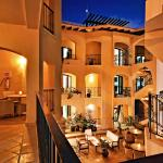 Private terraces and balconies