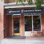 Entrance to Spruce Confections NOBO
