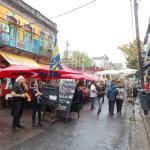 Barrio de La Boca - uno de los destinos a que fuimos