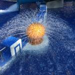 Particolare piscina esterna