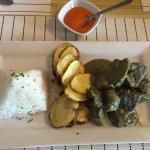 Beef pesto and potatoes