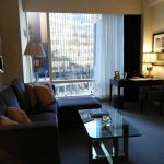 Living room area - Trump International - Central Park New York
