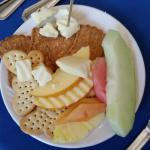 Fruit, Cheese and Cracker Plate