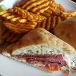 Fries and a Pastrami Sandwich