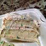 Birthday CREPE cake