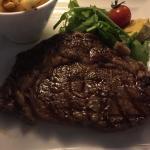 8-oz USDA prime rib-eye steak