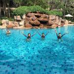 Love this pool at Ravindra.