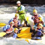 Bajada en rafting por el Noguera Pallaresa