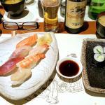 Sushi bien préparés et succulents, makis bien agréables ;)
