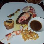 The surf and turf, highly recommend.