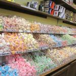 Large selection of taffy.