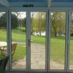 The external entrance to the Extension/Garden Room