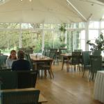 The Garden Room BEFORE setting up for the Wake