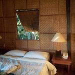 The basic Cabana bamboo room, no AC, but fun.