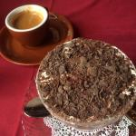 Tiramisu and espresso for dessert
