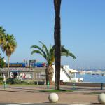 Vista general de la Lonja a orillas del Mar Menor